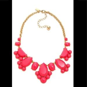 Kate Spade Statement necklace in orange